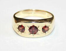 Garnet Stone Rings for Men