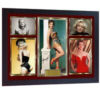Marilyn Monroe signed photo print autographed FRAMED