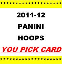 2011-12 ~ Panini Hoops Basketball ~ YOU PICK CARD