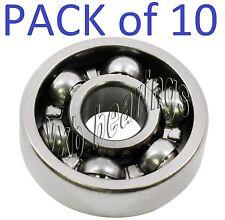 "Lot (10) R188 Fidget Hand Finger Spinner Toy Ball Bearing 1/4""x 1/2""x 1/8"" inch"