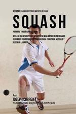 Recetas para Construir Musculo para Squash para Pre y Post Competencia :...