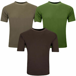 British Army Combat T-Shirt Tactical CoolMax Military Surplus Airsoft Camping