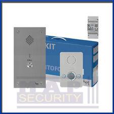 BPT 1 Vie Audio Citofono Porta Sistema di ingresso KIT-perla Unità & VANDAL PROOF Pannello