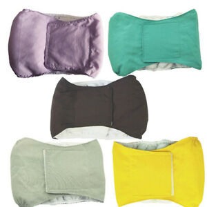 Reusable Dog Nappy Physiological Cotton Diaper Belly Band Menstrual Wrap Pants