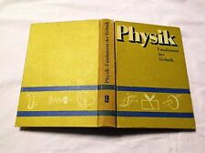 Physik - Fundament der Technik mit 412 Bildern ... DDR Fachbuch 1984
