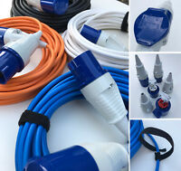 NEW TOP QUALITY Bouncy Castle Extension Cable Lead Wire 16 Amp WALTHER Connector