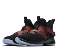 New Kids Nike Lebron Solider 12 Red Black Size 11c 11 No Tie