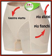 SLIP 3in1 PUSH UP CONTENITIVA IMBOTT.GUAINA MODELLA FIANCHI+GLUTEI TRANSESSUALI