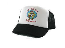 Los Pollos Hermanos Trucker Hat mesh hat snapback hat black