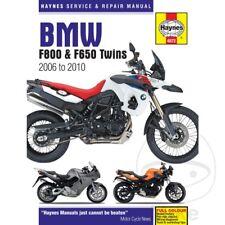 BMW F 650 800 GS 2008 Haynes Manual de reparación de servicio 4872