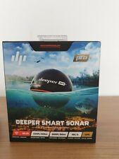 Deeper smart Sonar pro plus WiFi GPS Echolot Fischfinder Flexarm Case