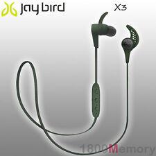 GENUINE Jaybird X3 Sport Bluetooth Wireless Buds Headset Earphone Alpha Green