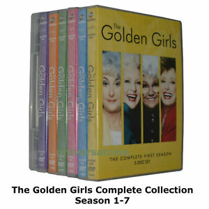 The Golden Girls Season 1-7 : The Complete Collection New Sealed UK Region 2 DVD