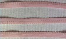 uralte Borte mit Bogenrand blasses rosa 1cm reine Baumwolle um 1930/40