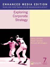 Exploring Corporate Strategy: Enhanced Media Edition,Gerry Johnson, Kevan Schol