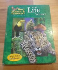 Holt Science and Technology LIFE SCIENCE textbook by Rinehart and Winston 2004