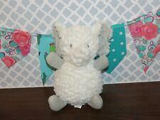 "Mary Meyer Baby Afrique Elephant White Chime Gray Silky 9"" Plush Stuffed Toy"
