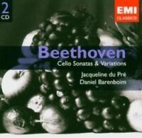 Jacqueline Du Pre - Beethoven: Cello Sonatas (NEW 2 x CD)