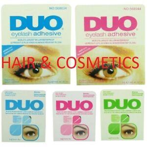 Duo Lash Adhesive All Types -Clear/ Dark-Brush on/ Quick Set-FREE UK POST!!!!!