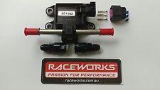 RACEWORKS FLEX FUEL COMPOSITION SENSOR E85 2 YEAR WARRANTY FSA-022 -06 FITTINGS