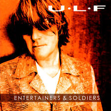 ULF - Entertainers & Soldiers CD 2003 Pierced Records * MINT * Solo Jerusalem