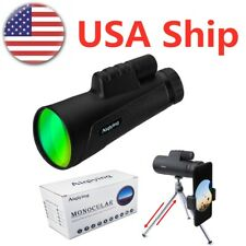 10x50 Monoculars Telescopes for Kids Adults Professional HD for Birding Hunting