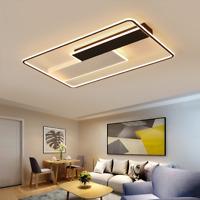 Modern minimalist rectangular LED ceiling living room l room bedroom lamp