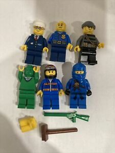 Lego Figure Lot and Lego Accessories