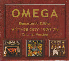 OMEGA - Remastered Edition Anthologie 1970 - 1975 3 CD in einem Pack in Original