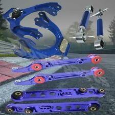 1992-1995 Honda Civic EG Aluminum Front Rear Lower Control Arm Camber Kit Blue