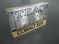 More details for teac cobalt 52x (sound 52 type ii) gold metal reel cassette brand new & sealed