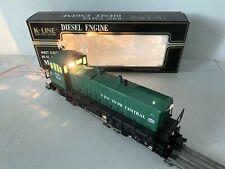 K-LINE DIESEL LOCOMOTIVE TRAIN-NEW YORK CENTRAL MP-15 DUAL MOTORS K-2212 O-SCALE