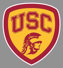 USC Trojans 12 LOGO Decal Flat Vinyl Reusable Repositionable Auto Home University of Southern California