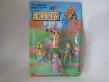 1995 SOMA Pocahontas Indian Action Figures Dolls (New on Card)
