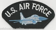 AIR FORCE - BOMBER JET - IRON or SEW ON PATCH