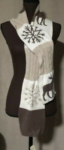 Abercrombie and Fitch Scarf Moose