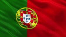 Portugal Flag National Country Crest Emblem (5ft x 3ft)