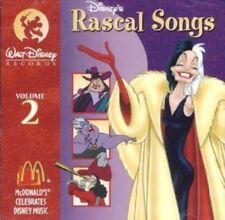 Audio Cd - Movie Soundtrack - Disney's Rascal Songs Volume 2 - Cruella De Vil