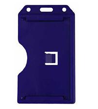 Heavy Duty 2-Sided Rigid Multi Card Vertical Badge Holder by Specialist ID