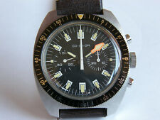 """LEMANIA By """"CO-IN-OR"""" CRONO MANUALE-ACCIAIO-OVERSIZE(39 MM)-CAL.1872-COME NUOVO"""