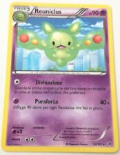 REUNICLUS 52/101 SET VITTORIE REGALI N&B RARA CARTA POKEMON ITALIANA NEAR MINT