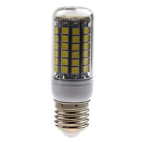 5X(E27 8W 69 LED 5050 SMDCorn Spot Light Bulb Lamp White 6500K 500LM S6Y5