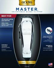 Andis Master Clipper 01557 Professional Salon Barber Hair Clipper Improved ML