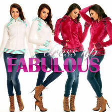Polyester Unbranded Striped Regular Coats & Jackets for Women
