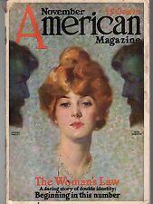 1913 American November - Panama Canal; Schoonover; Ida Tarbell Flies; J Marlowe