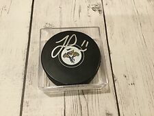 Florida Panthers Jonathan Huberdeau Signed Hockey Puck Autographed NHL i