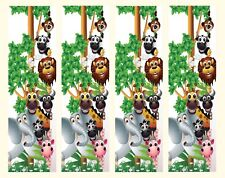 Jungle Animal Ceiling fan sticker skins children bedrooms wall decor girl
