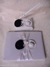 Wedding Party Ceremony Western ~Cowboy Hats~  Guest Book Pen Set 3 Ps