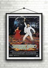 Saturday Night Fever Classic Large Movie Poster Art Print A0 A1 A2 A3 A4 Maxi