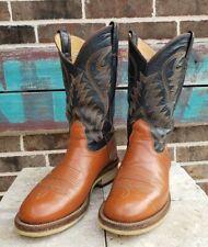NOCONA Cowboy Boots, Crepe sole Mens 9.5D VINTAGE